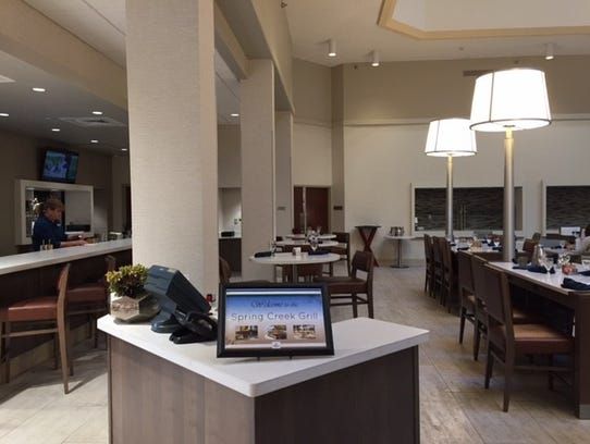 The Spring Creek Grill at the Hilton, 425 W. Prospect