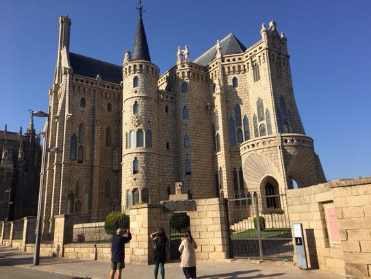 Palacio Episcopal designed by Gaudi in Astorga.