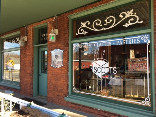 Scotts Corner Cafe features small-town charm with with