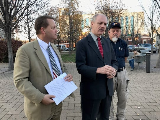 Attorney Jim Roberts and former Metro Councilman Duane