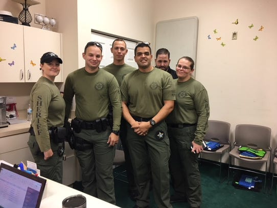 St. Lucie County Sheriff's Office STAR Team members