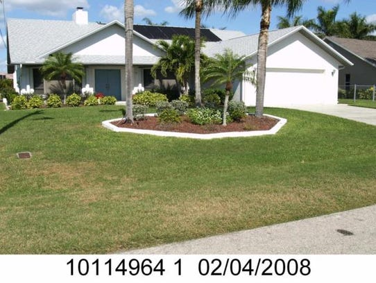 This home at 1129 SW 54th Lane, Cape Coral, recently