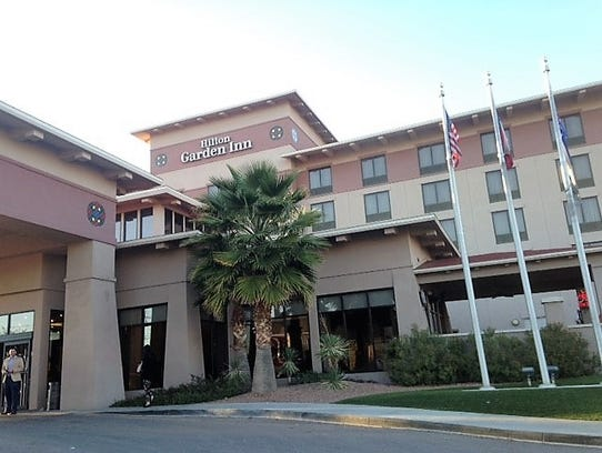 The Hilton Garden Inn, opened by TVO North America