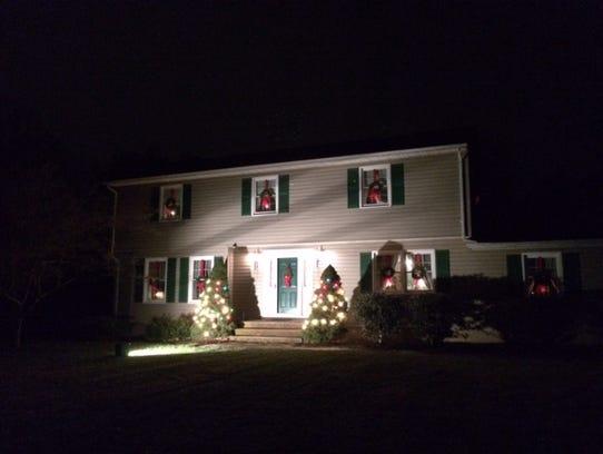 Lynn Degen's father's Bridgewater home.