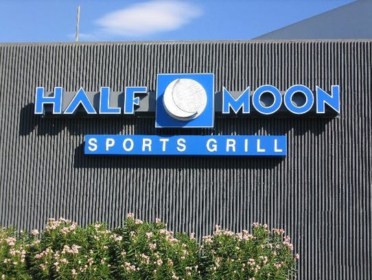 Catch the game at Half Moon Windy City Sports Grill for fun and good food.