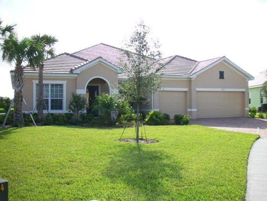 This home at 1813 Cayon Court, Cape Coral, recently