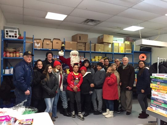 The volunteers at the Perth Amboy St. Vincent dePaul