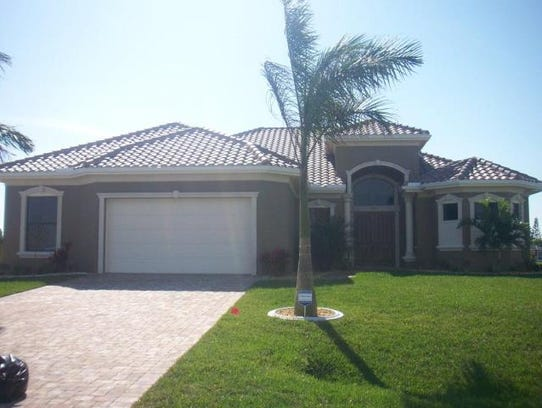 This home at 3712 NW 14th Terrace, Cape Coral, recently