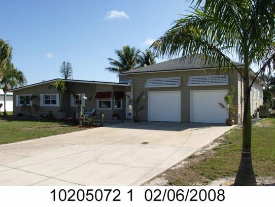 This home at 1116 Lincoln Court, Cape Coral, recently