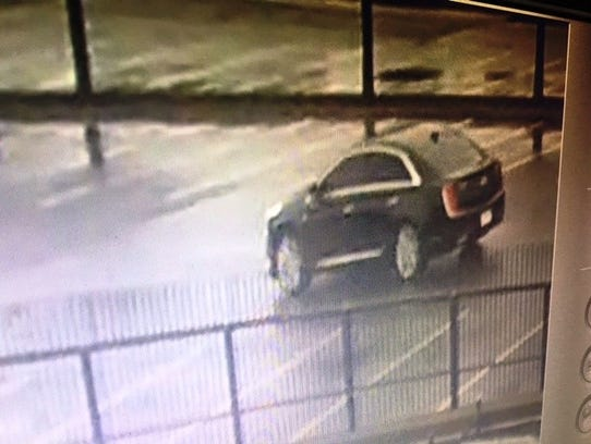 Investigators say this car was seen driving around