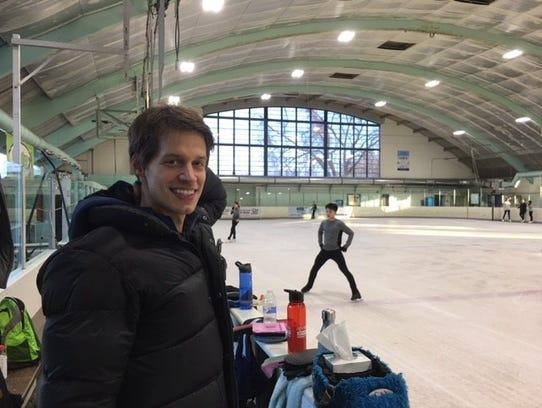 Three-time Austrian Olympian Viktor Pfeiffer began