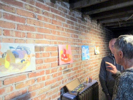 Florida artist Karl Kelly describes his process to
