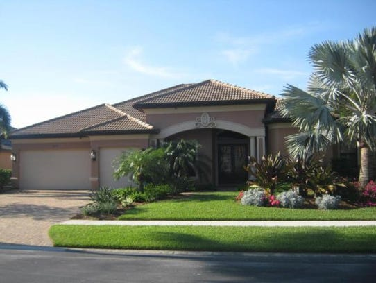 This home at 1816 Harbour Circle, Cape Coral, recently