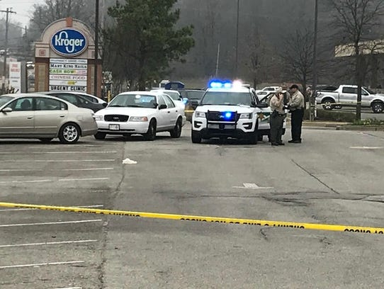 Shelby County Sheriff's deputies investigate the are