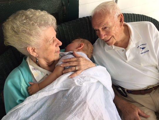 Philip Livingston leaves behind his wife of 69 years,