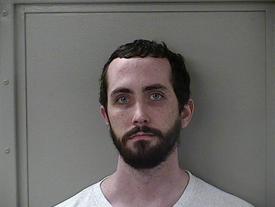 Joseph Davis, 25,of Manson Pike was charged with felony