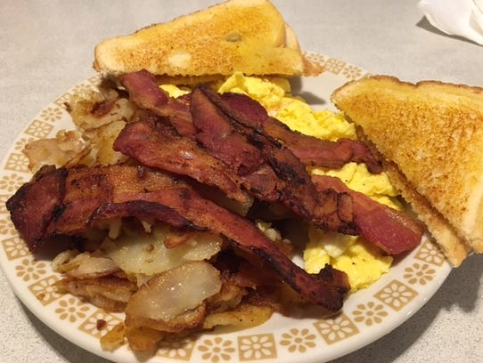 Breakfast is always done right at the Copper Kettle