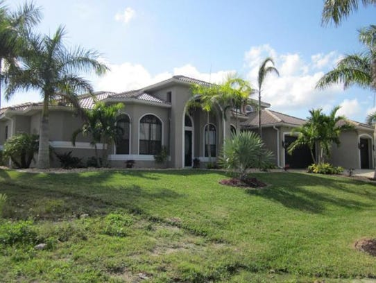 This home at  2804 SW 38th St., Cape Coral, recently