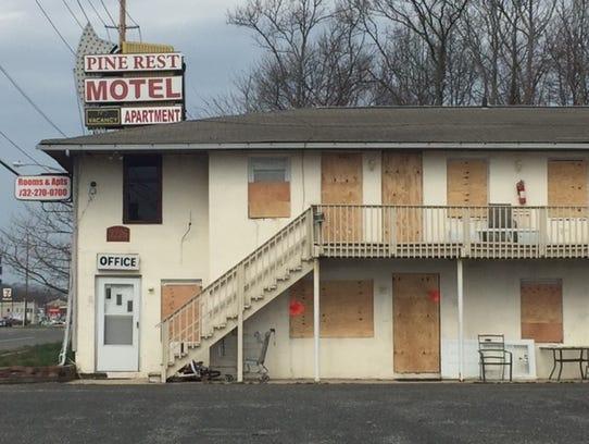 Pine Rest Motel in Toms River has been shut down.
