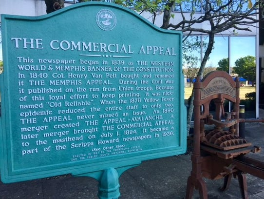 The Commercial Appeal has sold its longtime home at