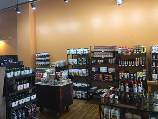 The 'Field Market opened May 5 downtown at 101 N. Main St. and offers a variety of foods including organic, gluten free and vegan products. The store is open Mondays through Saturdays 7 a.m. to 7 p.m.