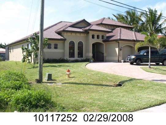 This home at 5418 SW 24th Place, Cape Coral, recently