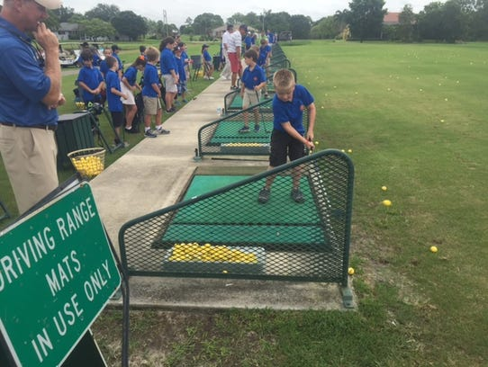 The Cape Coral Junior Golf Association summer program