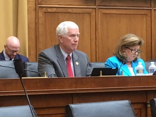 Rep. Mo Brooks, R-Ala., sits in on the Judiciary subcommittee