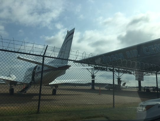 Plane at Wilson Air. Not Kim Kardashian's