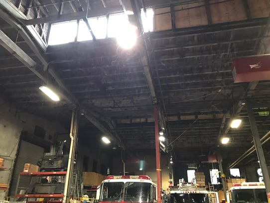Yonkers Firefighters Put Out Fire On Roof Of Department S