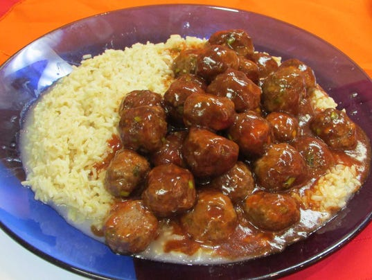Pic 6 Sweet + Sour Meatballs