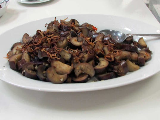 Thai Garlic-Eggplant Stir-fry