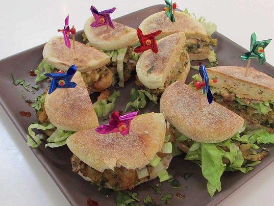 Pic 4 Spicy Shrimp Burgers