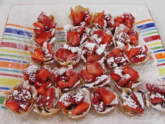Pic 1 Phyllo Tartlets