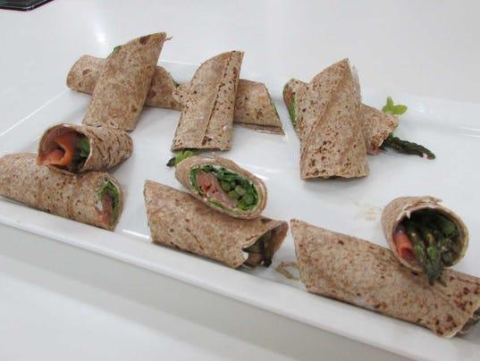 Pic 6 Smoked Salmon Wraps