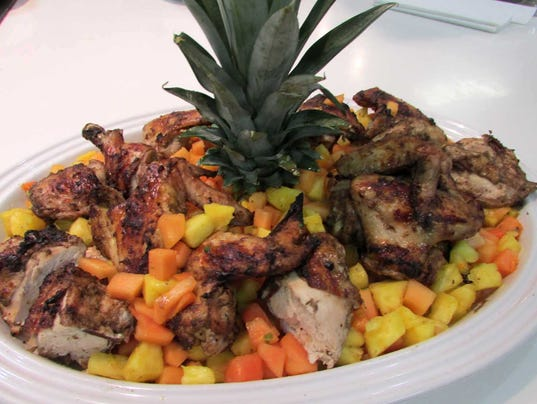 Grilled Jerk Chicken with Papaya Salsa (Photo: Grilled Jerk Chicken)