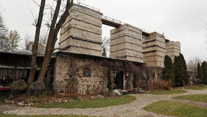 The Quasius Kiln complex as seen Dec. 6, 2016, in the Town of Rhine.  The former Sheboygan Valley Land and Lime Company has been listed to the National Register of Historic Places, according to the Historical Society of Wisconsin.