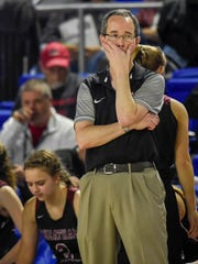 Cheatham County Central High School head coach watches