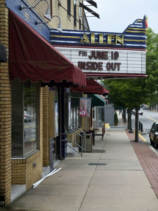 The Allen Theatre and MJ's Coffeehouse in Annville have been on the market for nearly a year, but owner Skip Hicks now indicates that he isn't ready to sell the properties and enter retirement.
