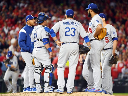 Kenley Jansen threw a career-high 51 pitches in Game