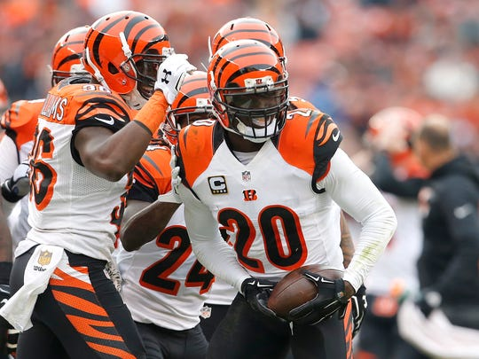 Reggie Nelson made his first Pro Bowl, but the Bengals must decide if they bring back the 32-year-old or younger, more expensive George Iloka.