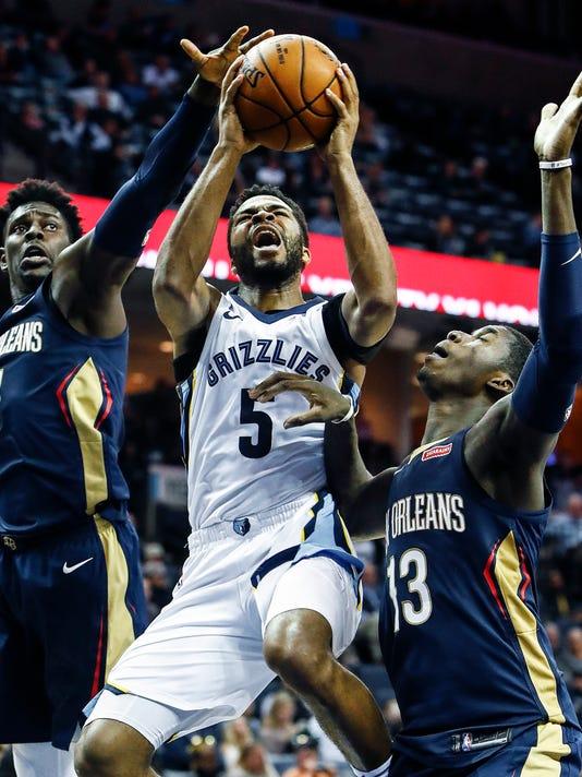 Grizzlies Pelicans