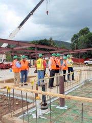 Jaynes Corp Project Superintendent Steve McWhorter