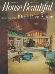 The cover of the February 1960 issue of House Beautiful.
