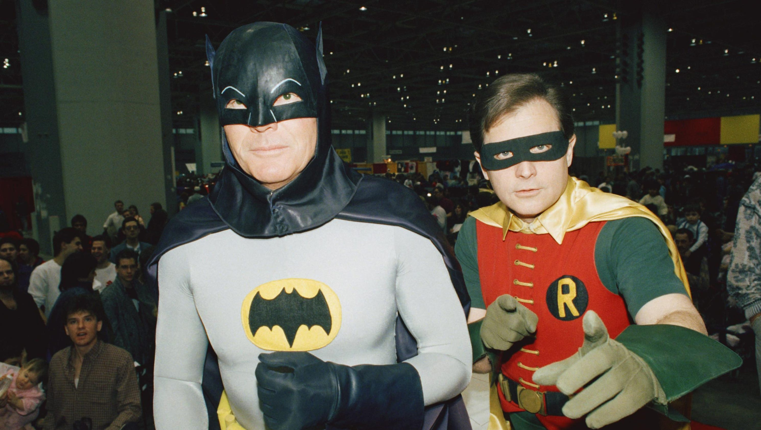 """86a635ef565 West s deadpan portrayal of the comic hero in a campy 1960 s TV series  brought the Caped Crusader into the national consciousness with a """"bang!""""  The Dark ..."""