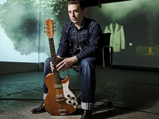 JD McPherson, with Dylan Pratt, will play the Magic Bag on Wednesday.