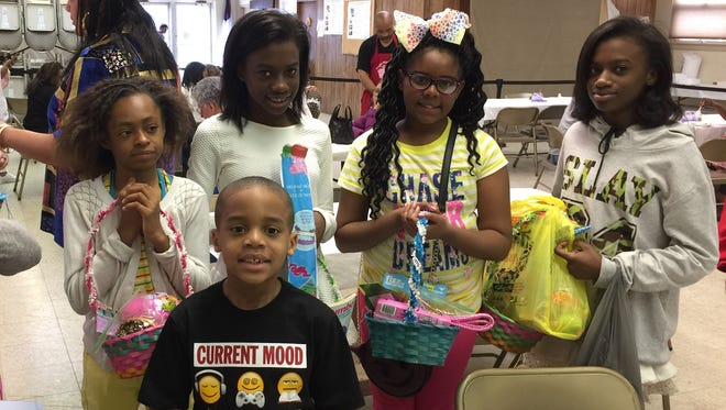 More than 250 men, women and children were provided with a free Community Easter Dinner on April 1 courtesy of Bethany Grace Community Church and the Hands of Compassion Women's Ministry, in cooperation with Manna from Heaven and Christ Evangelical Lutheran Church.