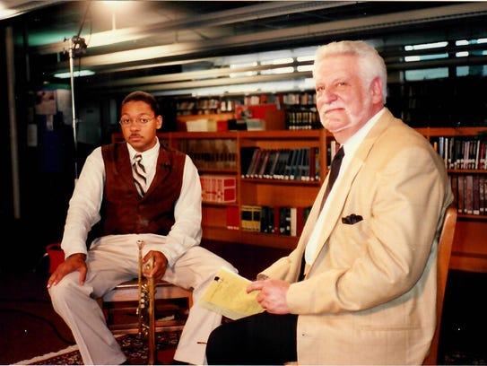 Wynton Marsalis and Gus Weill