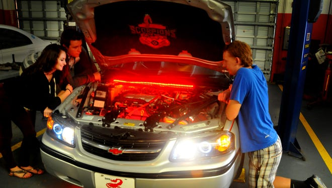 The team of Satellite High students that participated in a nationwide car restoration competition hosted by Quaker State Motor Oil, came in second place overall in the competition