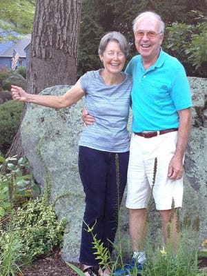 Charlie Thayer, a lifelong resident of Exeter and former editor of the Exeter News-Letter, succumbed to Lewy Body dementia on Sept. 12. He is pictured with his wife Patsy.
